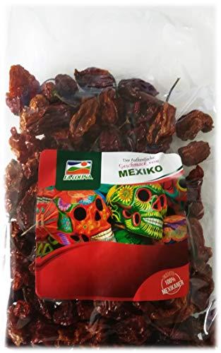 Habanero Chili ganz (getrocknet 100g) | Capsicum annum | Der authentische Geschmack Mexikos