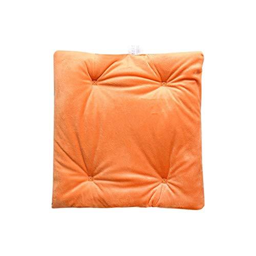 FBGood Heizkissen – USB-Kissen für Sitzheizung, elektrisch, Sitzbezug beheizbar, USB, Heizkissen für Bürostuhl, zu Hause, für LKW Orange
