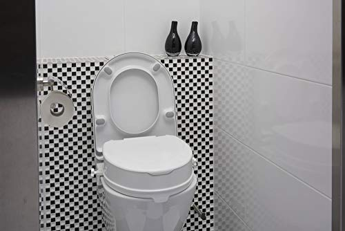 SecuCare - Elevador WC Adaptable. Alzador WC Adulto De Fácil Instalación Y...