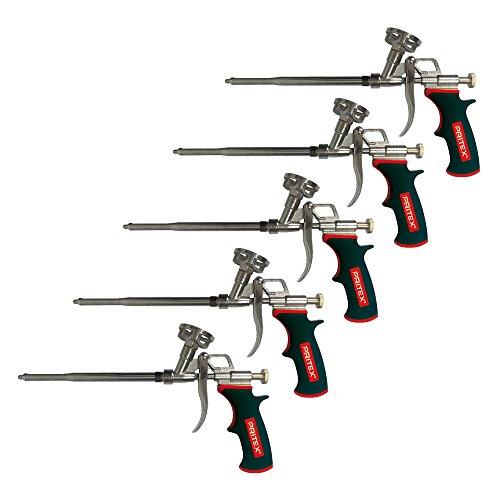 Bauschaumpistole 5 Stück Schaumpistole für PU Pistolenschaum Montageschaum