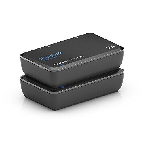 PureLink CSW620 Funkübertragungs- und erweiterungssystem für Subwoofer, max. Reichweite: 15m, Schwarz