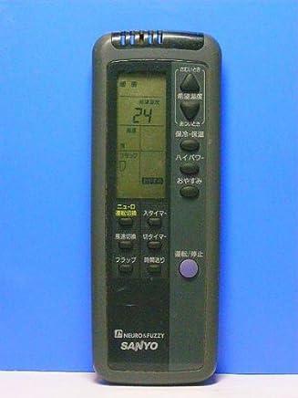 サンヨー エアコンリモコン RCS-LVR3A(K)