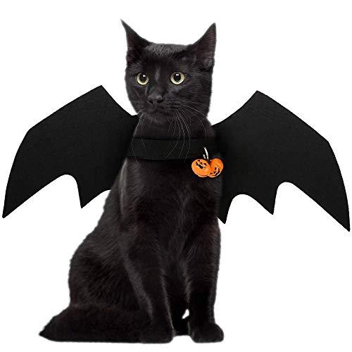 FineInno Halloween Chauve-Souris Costumes Bat Wings Animaux domestiques Pet Deguisement Vêtements...