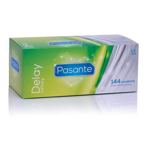 Pasante Delay - Condones Ritardantes, 1 paquete de 12 unidades