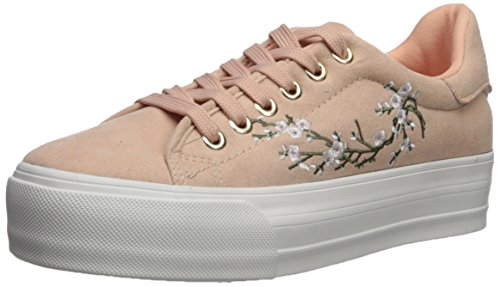 Qupid Damen MYA-01 Turnschuh, Blush, 37 EU