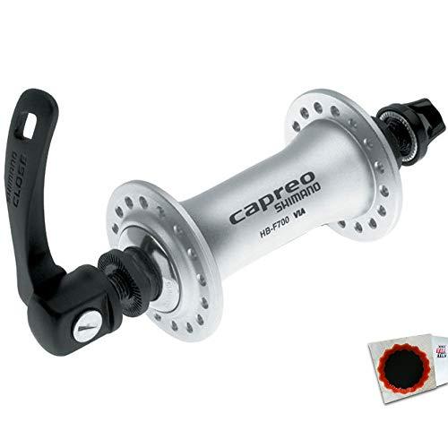 Shimano Vorderradnabe CAPREO HB-F700 32 Loch Schnellspanner Silber Fahrrad