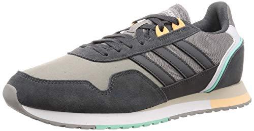 Adidas 8K 2020, Zapatillas para Correr Hombre, Dove Grey/Grey Six/Glow Orange, 40 EU