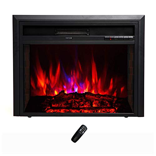 electric fire insert with flame effects