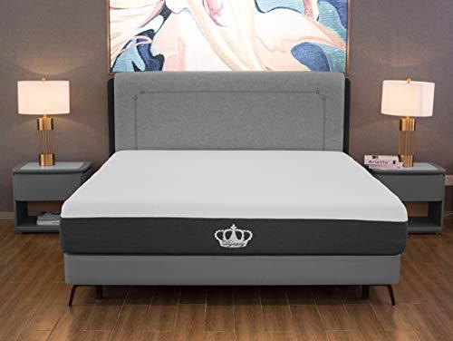 "12"" Cooling Gel Memory Foam Mattress and Free Pillow (Medium Firm - Twin Size)"