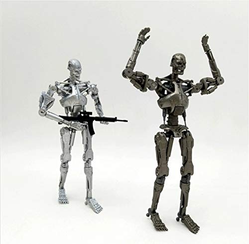 Terminator 2 Future Warrior T800 Skeleton Action Figure for 1 pcs Figures Color Silver Or Gray for 3D Collection Model for Kids Toy1