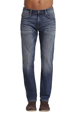 Mavi Jeans Men's Zach Regular Rise Straight Leg Jeans, Mid Used Williamsburg, 36W x 34L from Mavi