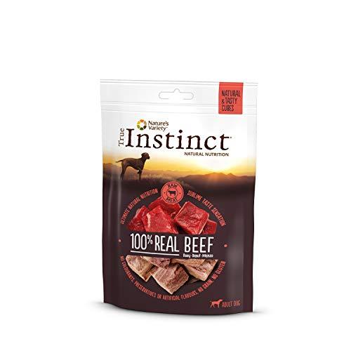 True Instinct Cubes Beef - Nature's Variety - Snacks de Bœuf Déshydraté - Pack 6 x 50gr - Total 300gr