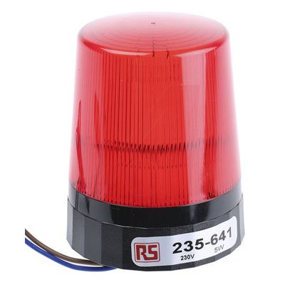 RS Pro High Max 56% OFF material 235641 Xenon Beacon Red Flashing Surface 230 Mount Vac