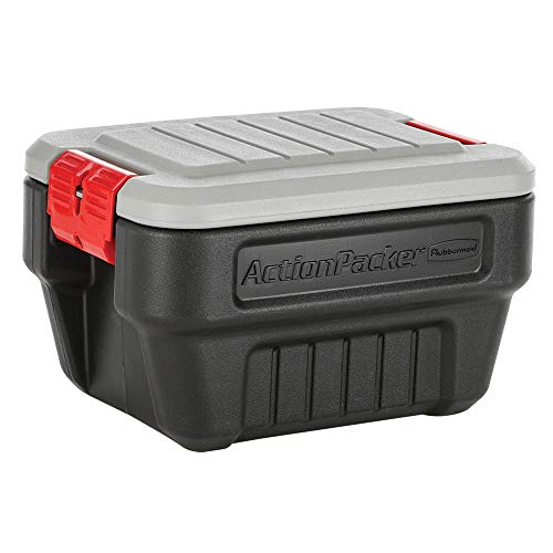 Rubbermaid Action Packer Outdoor Storage Box Container