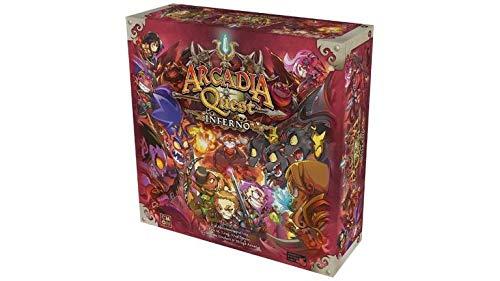 Asmodee CMN0053 Arcadia Quest-Inferno, Erweiterung
