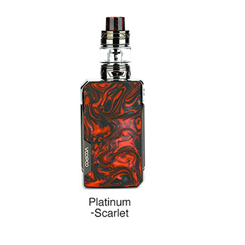 VOOPOO Drag 2 Platinum Kit DRAG 2 Platinum Mod con UFORCE T2 Tank 5ml Fit UFORCE U2 Coil Electronic Cigarette Vape mod