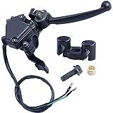 MRELC 7/8'' Thumb Throttle with Dual Brake Lever Assy Compatible with 50cc 90cc 150cc 250cc ATV Quad Roketa Taotao Sunl Kazuma