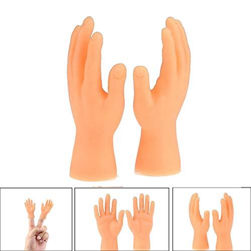 ROOYA BABY Screepy Halloween Tiny Hand Fingerpuppen Kleiner Finger Props Für Hände Halloween Hand Prop Zubehör Mini Prank Hand Gag Kleinkind-Spielzeug