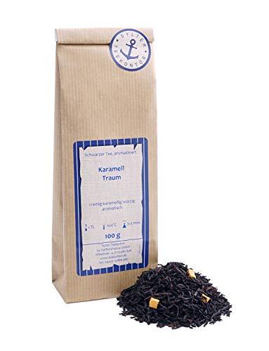 Schwarzer Tee lose Karamell Traum Karamell Schwarztee cremig-karamellig würzig aromatisch 100g