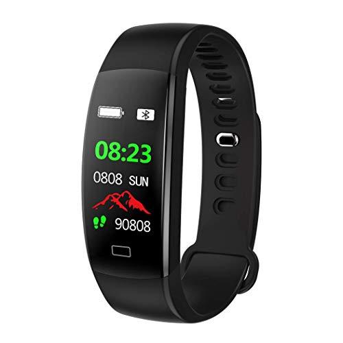 Pulsera de Actividad Inteligente Podómetro Pulsómetro Tensión Arterial Oxígeno en Sangre IP 68 Control Sueño GPS, iOS 9.0, Android 4.4, Varios Modos de Deporte Calorías Notificaciones Inteligentes