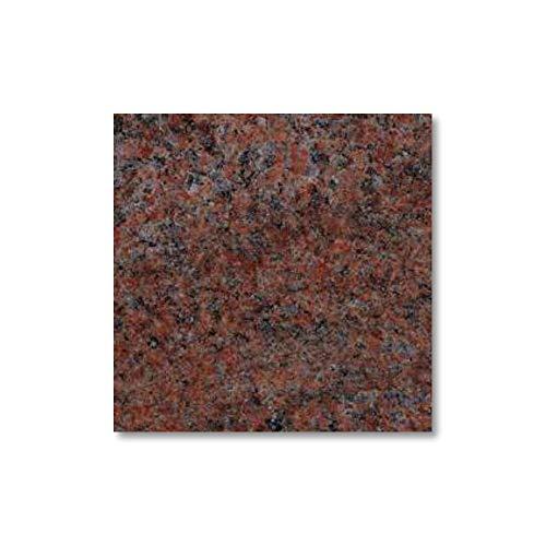 Serafinum Pedestal de Tumba de Piedra Natural - Rojo Multicolor/pequeño (6x10x10cm) /...