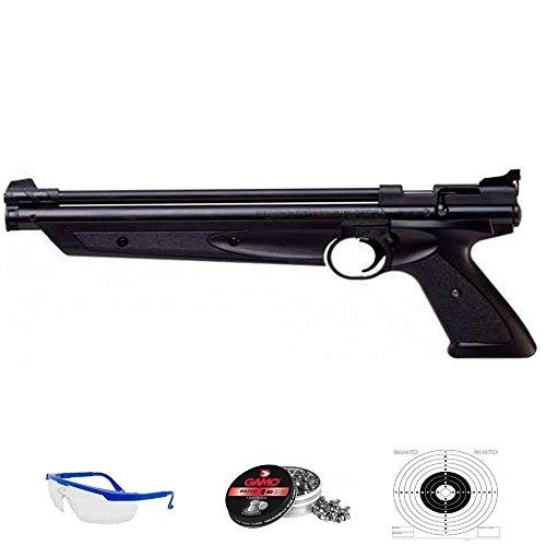 American Clasic Pack Pistola de Aire comprimido Crosman Arma de balines (perdigones de Plomo) [Calibre 4.5mm y 5,5mm] <3,5J
