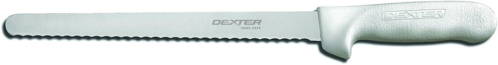"Dexter Outdoors 10"" Narrow Scalloped Roast Slicer"