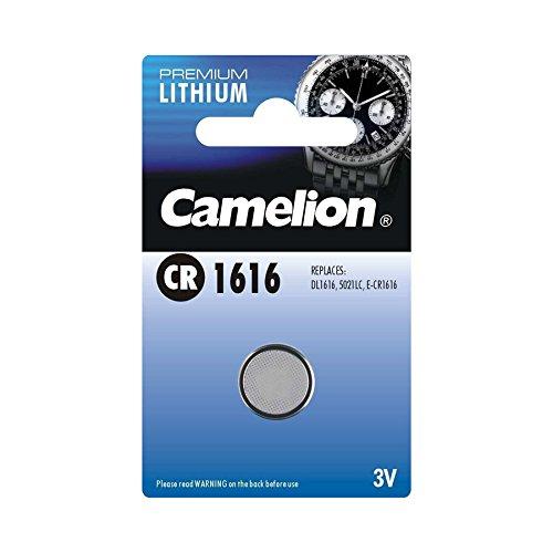 Camelion 13001161 Lithium Knopfzellen 3 Volt CR1616/ 1 Stück