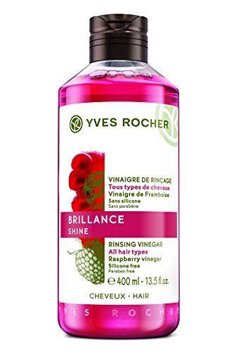 Yves Rocher Brillance shine Rinsing Vinegar Enhances hair's natural shine, 400 ml./13.5 fl.oz.