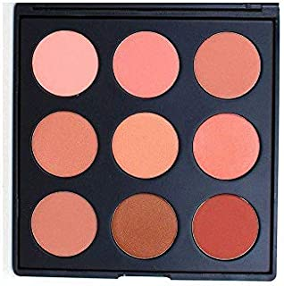 Morphe 9N With 5 creamy matte shades and 4 luminous satin colors