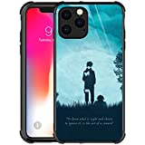iPhone 12 Pro Case,Green Reading Ninja iPhone 12 Cases for Girls Boys,Customesize Pattern Design Shockproof Anti-Scratch Hard PC Back Case for Apple iPhone 12/12 Pro