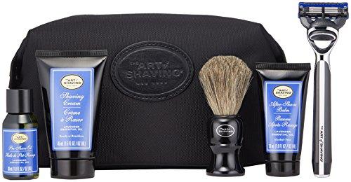 Price comparison product image The Art of Shaving Travel Shaving Kit for Men - Morris Park Mens Razor with Shaving Cream,  Shaving Brush,  After Shave Balm,  & Pre Shave Oil,  Lavender