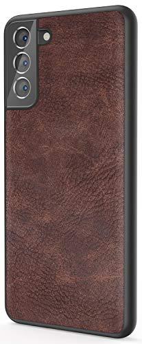 Salawat Galaxy S21 Case, Slim PU Le…