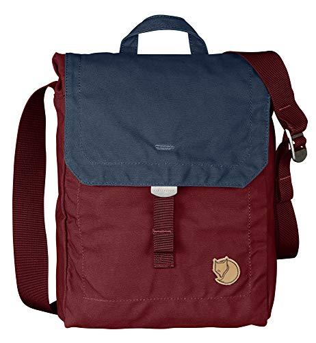 Fjallraven - Foldsack No. 3 Shoulder Bag, Ox Red-Navy