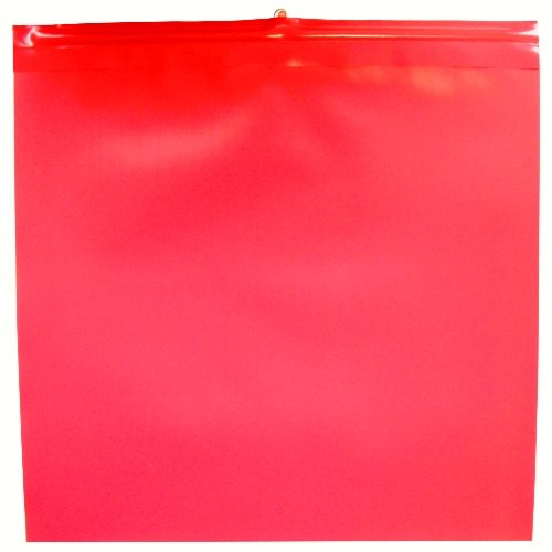5x Warnfahne Warnflagge Endfahne Schlussfahne rot 30 x 30 cm