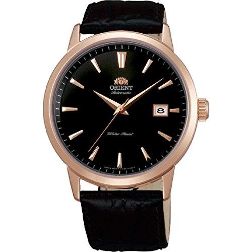 Orient Symphony Herren-Armbanduhr 41mm Armband Leder Automatik FER27002B0