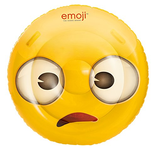 Happy People 16707 Emoji - Flotador, 108 cm