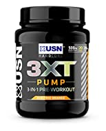 *Maximise your workout*: Take your next weights session to another level with USN pre workout gym supplement. Our prework powder contains a variety of researched exercise-boosting ingredients: Citrulline Malate and beta-alanine *Pump it up:* USN's 3X...