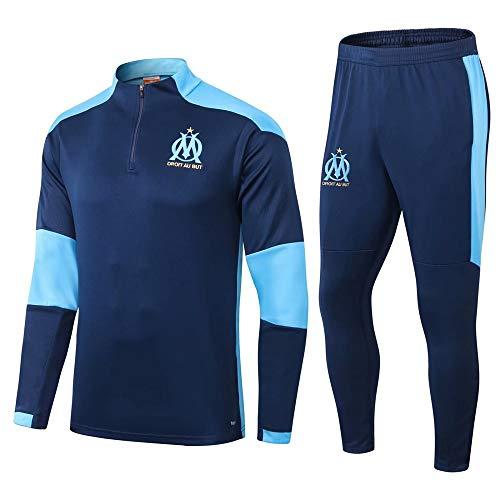 zhaojiexiaodian Traje de fútbol de manga larga para primavera y otoño, camiseta deportiva para adultos Imagen 1. L