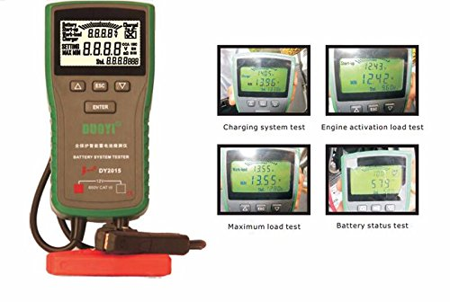 Great Features Of DY2015 12V Car Battery System Tester Capacity Maximum Electronic load Battery Char...
