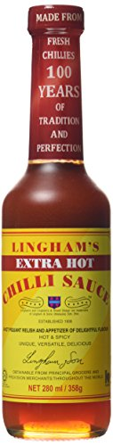 Lingham\'s Chili Sauce Extra Hot, 360 g