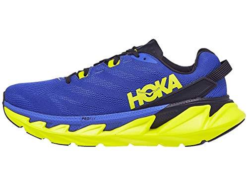 HOKA one one Homme Elevon 2 Textile Amparo Blue Evening Primrose Formateurs 44 EU