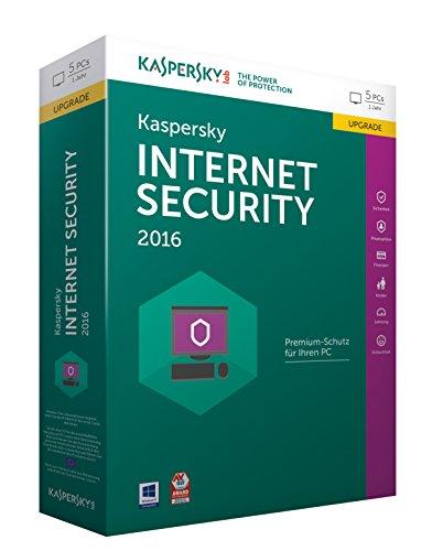 Kaspersky Internet Security 2016 Upgrade - 5 PCs / 1 Jahr [import allemand]
