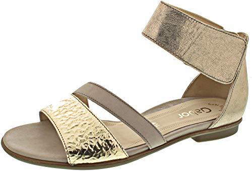 Gabor (Sandalette Gold / 6