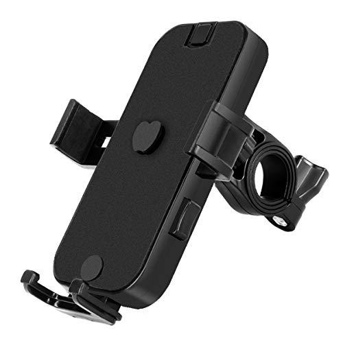 自転車スマホホルダーバイク携帯ホルダー自転車ドリンクホルダー取り付け簡単ワンタッチ片手操作自由調節多機種対応iPhoneSamsungSonyLGHuaweiのスマホに対応360回転可能