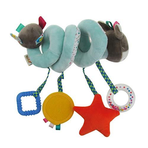 Toyvian babyspirale kinderwagen spielzeug kinderbett kinderwagen spiralverpackung kinderwagen hängen anhänger babyauto spielzeug spirale hängen spielzeug