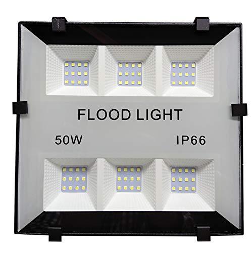 Foco Proyector Led Slim 50w Elegant para Exterior. Color Blanco Frío (6500K). 5000 Lumenes. IP65. A++