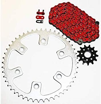 Fits Honda CR250R 250 R Red Sprocket 13 and Directly managed store 52 Dedication Chain 116L