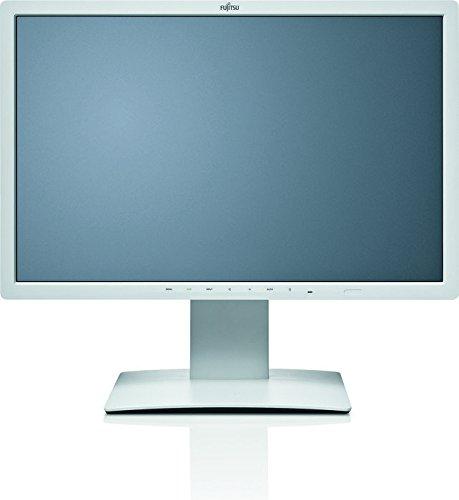 Fujitsu Displays B24W-7 LED Display 61 cm (24 Zoll) WUXGA flach matt - Computerbildschirme (61 cm (24 Zoll), 1920 x 1200 Pixel, WUXGA, LED, 5 ms, Grau)
