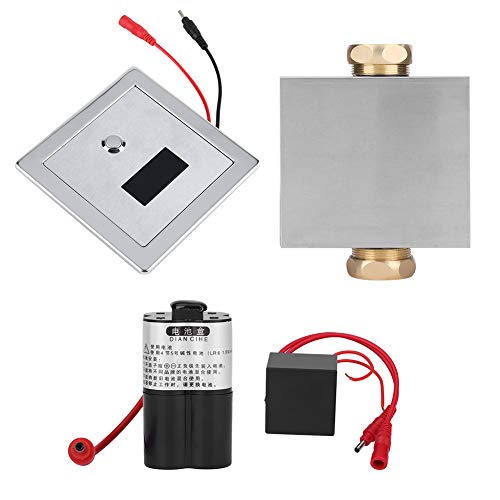 Urin Infrarot Sensor Urinal Manuelle & Automatische Stuhlspülventil Kupferventil für Hotel Badezimmer Toilettenventile Urinalsensor Spülung